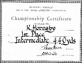 Hornsby Athletics 1
