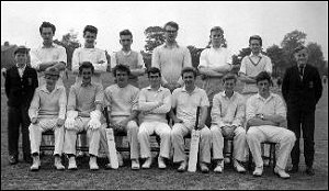 Senior Cricket XI 1962