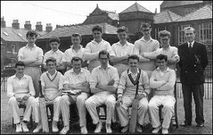 Senior Cricket XI 1961 (?)