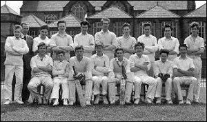 Senior Cricket XI 1963