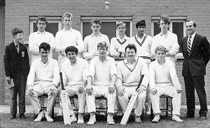 Senior Cricket XI 1964