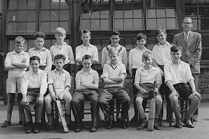 Under 13 Cricket team 1959